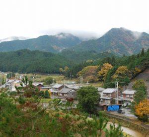 山内地区の風景